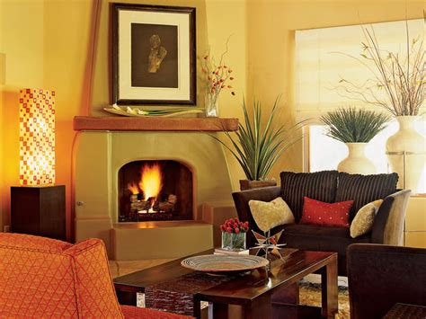 southwestern living room with warmth and charm hgtv
