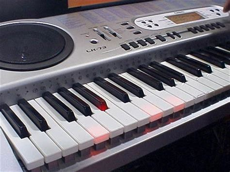 Casio Lighted Keyboard by Girlshopes