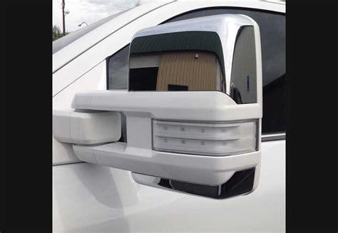 2014 Silverado Clear Mirror Lenses by 2014 Sierra Denali Silverado Clear Tow Mirror Lenses