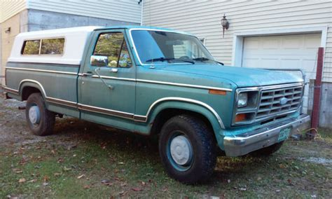 1982 ford f250 1982 ford f250 xlt up truck classic ford f 250 1982