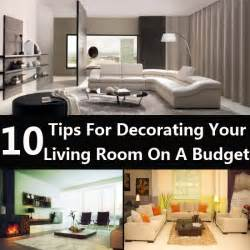 10 tips for decorating your living room on a budget diy
