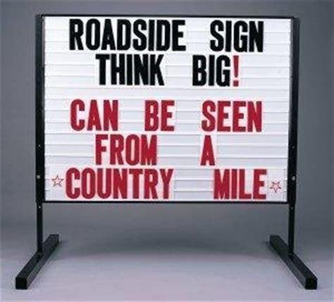 roadside marquee sign amazon com 3 x4 big roadside message board marquee 2