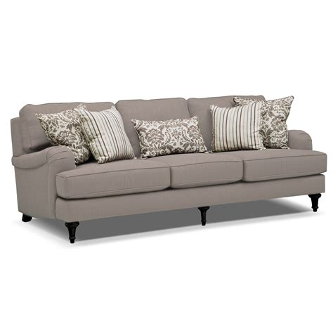 Sofa And Candice Sofa Gray Value City Furniture