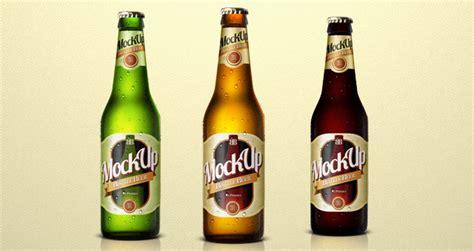 Beer Bottle Psd Mockup Template   Psd Mock Up Templates