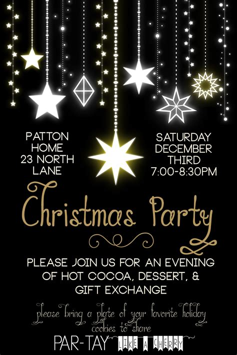 Work Online From Home Free To Join - free christmas party invitation party like a cherry