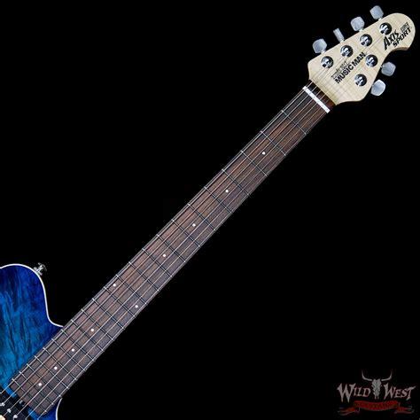 Balboa Blue ernie axis sport maple top rosewood fretboard balboa blue burst