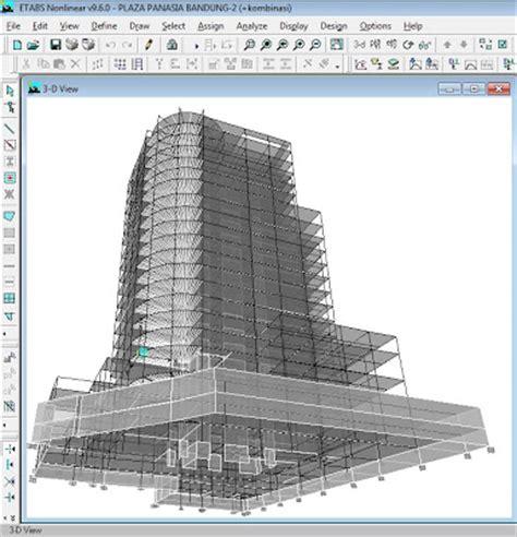 tutorial sap 2000 untuk gedung desain gedung bertingkat dengan menggunakan etabs dan sap