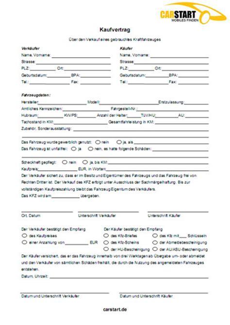 Adac Kaufvertrag Motorrad Oldtimer by Vordruck Kfz Kaufvertrag Kfz Kaufvertrag Kostenlos