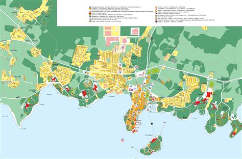 city maps of porec croatia city or destination map town maps