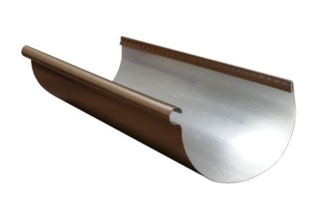 aluminum gutters half designer copper aluminum gutter half