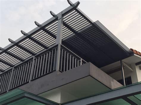 trellis with roof aluminium sun screen spacedor marketing pte ltd