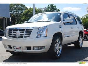 White Cadillac Truck Pearl White Cadillac Escalade Car Pictures