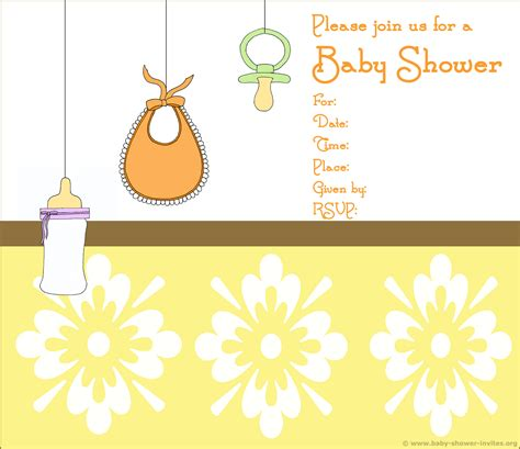 For Baby Shower by 20 Printable Baby Shower Invites