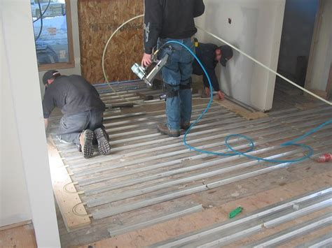 roth heated floor heated floors heat the entire structure a radiant