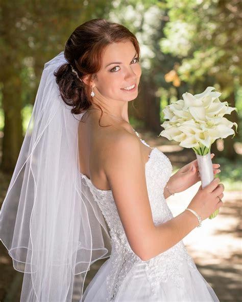 Brautfrisuren Mit Schleier Halboffen 4684 by Elegante Halboffene Hochsteckfrisur Hochzeitsfrisuren