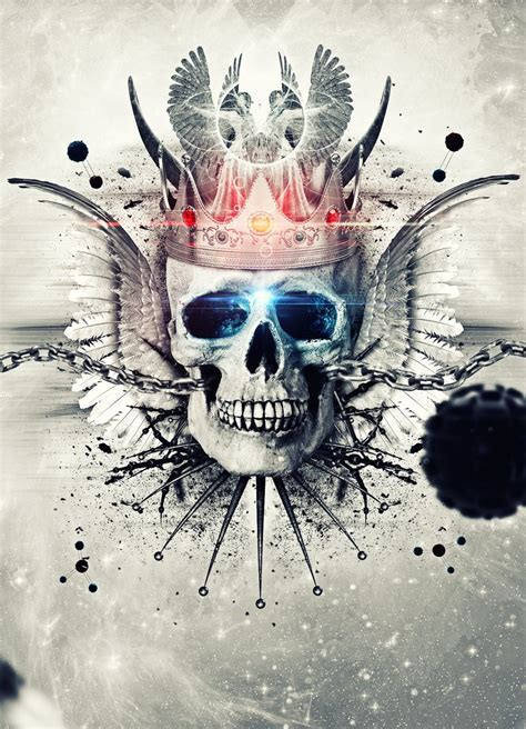 skull is the king by jaguarprod on deviantart
