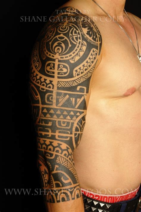 maori inspired tribal tattoo maori polynesian dwayne quot the rock quot johnson