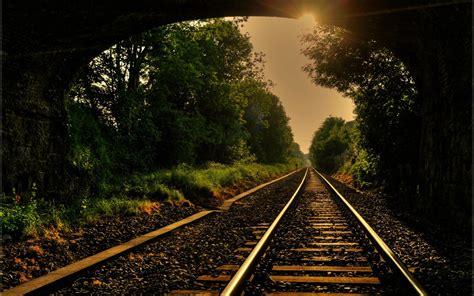 railroad wallpaper