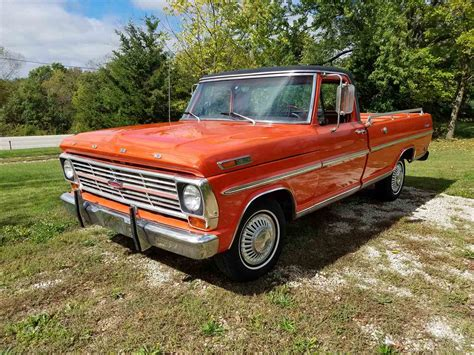 Ford F100 For Sale by 1969 Ford F100 For Sale Classiccars Cc 1035047