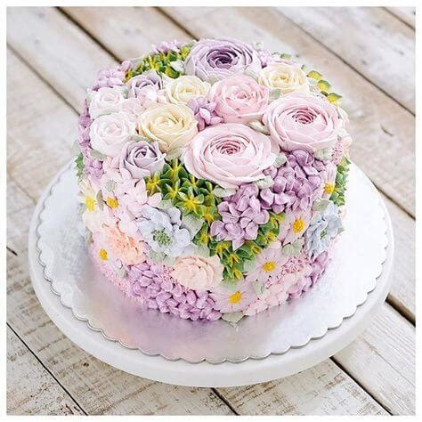 Kem Basic Flower 11 tortas de cumplea 241 os para im 225 genes de pasteles