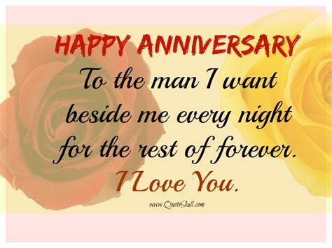 Wedding Anniversary Quotes For Him by Happy Anniversary Quotes For Him Happy Anniversary