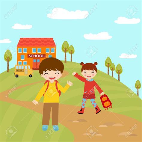 imagenes niños que van ala escuela lenguaje y comunicaci 243 n tema 1 rumbo a la escuela