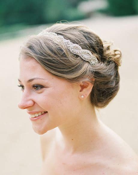 Wedding Hairstyles With Ribbon Headband by Bridal Headband Hairstyles