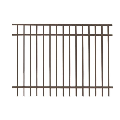 home depot decorative fence galvanized metal fence panels metal fencing fencing