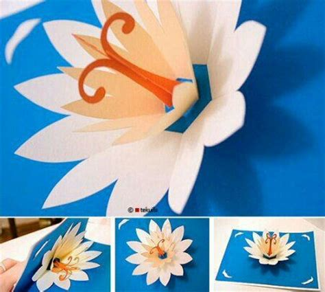 lotus pop up card template 17 best images about pop up cards on pop up