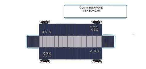 Papercraft Trains - csx papercraft pictures to pin on pinsdaddy