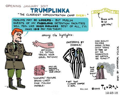 trump tattoo muslim death cs treblinka nazis concentration cs jews