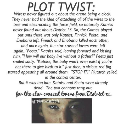 the hunger plot twist by for my thought on did this person read the book hunger