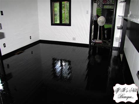 Kitchen Islands Cheap Black Painted Laminate Floor High Gloss Wood Your Loversiq