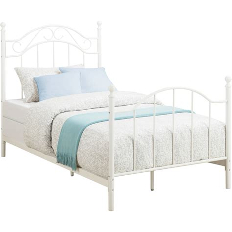 twin bed and frame fascinating twin metal bed frame headboard footboard also