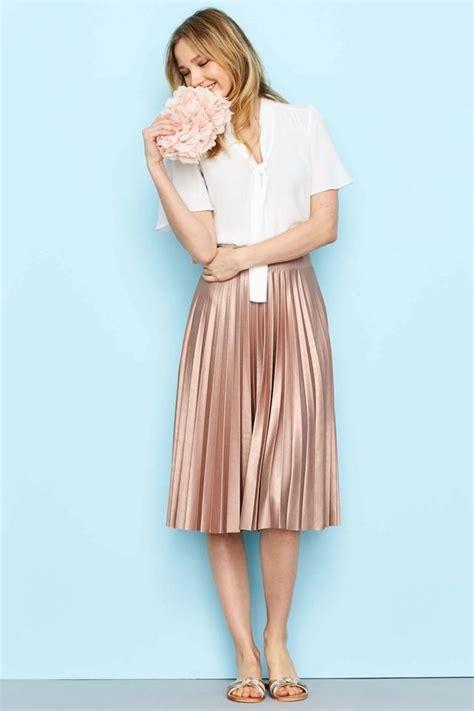 25 best ideas about metallic skirt on