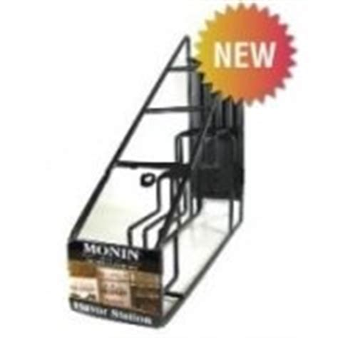 Coffee Syrup Rack by Monin Coffee Syrup Wire Rack 4 750ml Bottle Rack