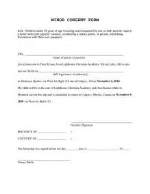sample consent letter for children travelling abroad with