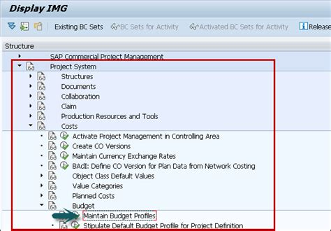 tutorial sap ps sap ps budget management