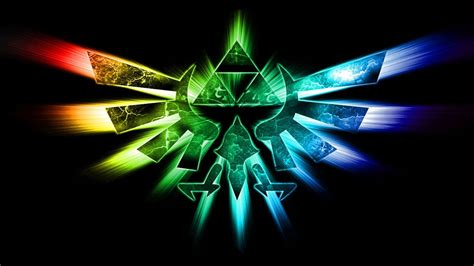 blue zelda wallpaper legend of zelda triforce 670891 walldevil