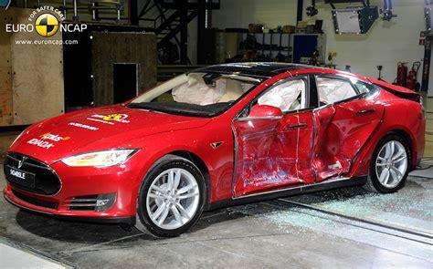 Tesla Model S Safety Tesla Model S Electric Car Gets Five Safety Rating