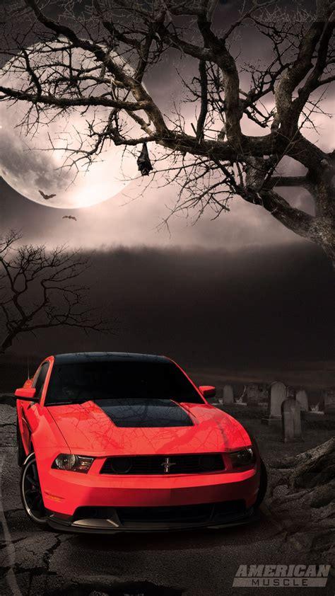 wallpaperscraft com all downloads mobile 720x1280 mustang night moon