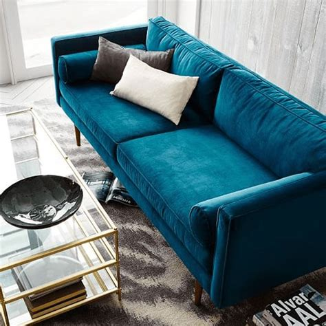 modern blue sofa best 25 modern sofa ideas on modern