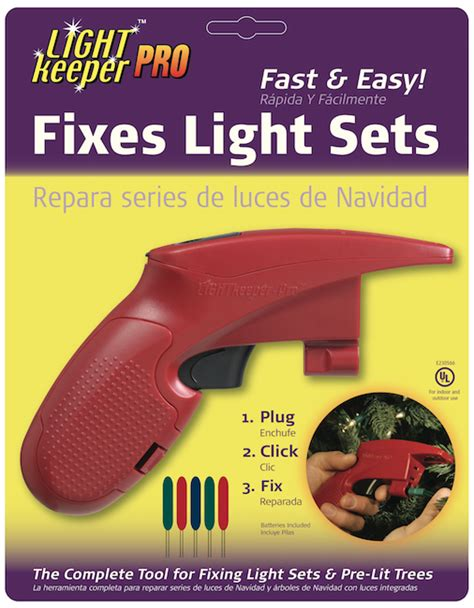 holiday light repair gun fix your lights with light keeper pro giveaway and review salt lake