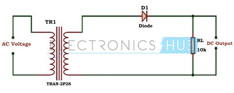 diode circuit half wave rectifier half wave rectifier work education in kendriya vidyalaya air station akkulam trivandrum