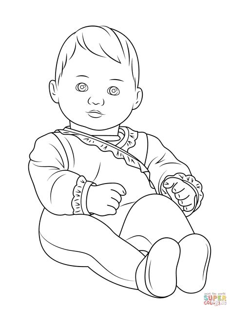 baby coloring sheet free coloring pages on art coloring pages
