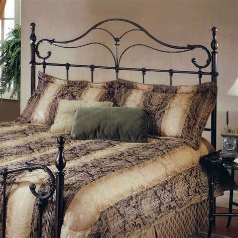 Antique Metal Headboards hillsdale metal headboard in antique bronze 1249 xx0