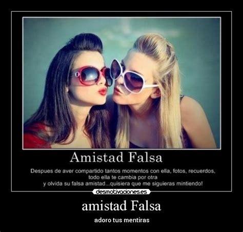 imagenes de una amistad falsa expresate