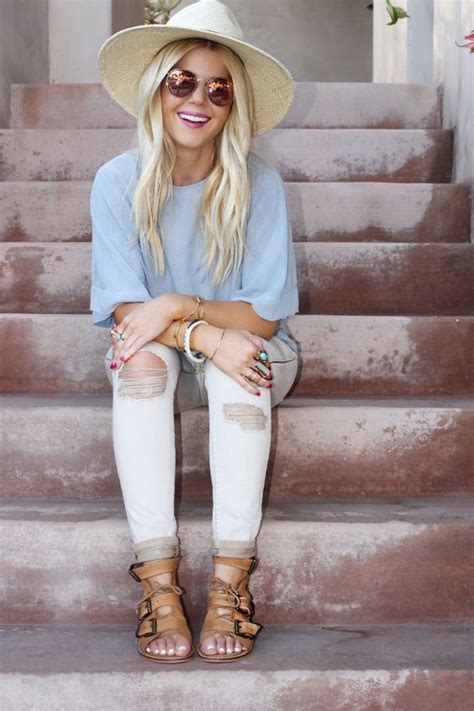 easy breezy casual chic spring outfit wwwshopdailychic