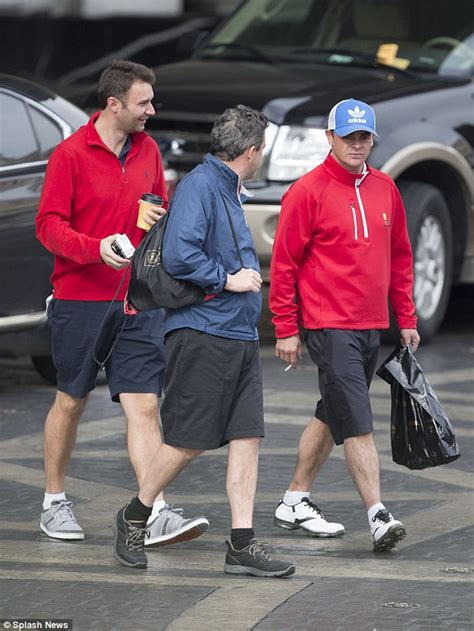 Ant and dec step out with pals for stag weekend in las vegas daily