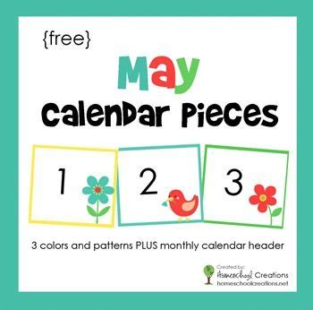 printable calendar numbers patterns may pocket chart calendar cards chart third and patterns
